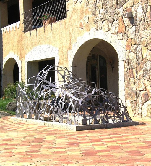 Preferenza Lavorazioni in ferro battuto, oggettistica sculture e decorazioni UW96